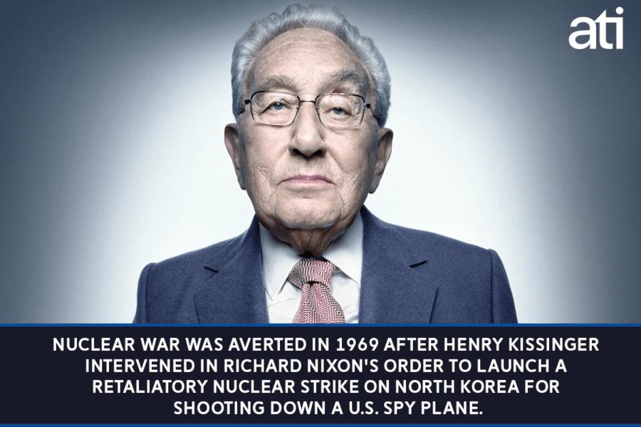 North Korea Nuclear War 1969