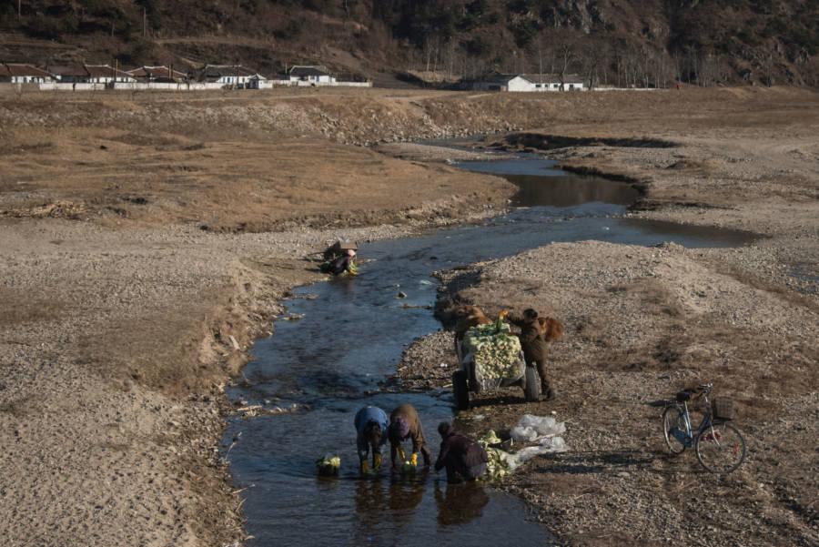 North Korea River