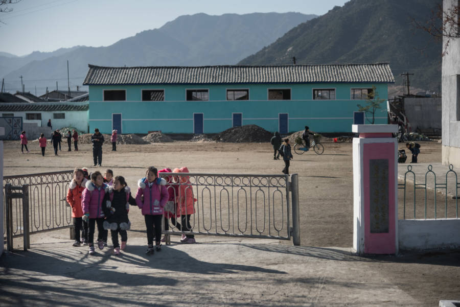 North Korea Schoolchildren