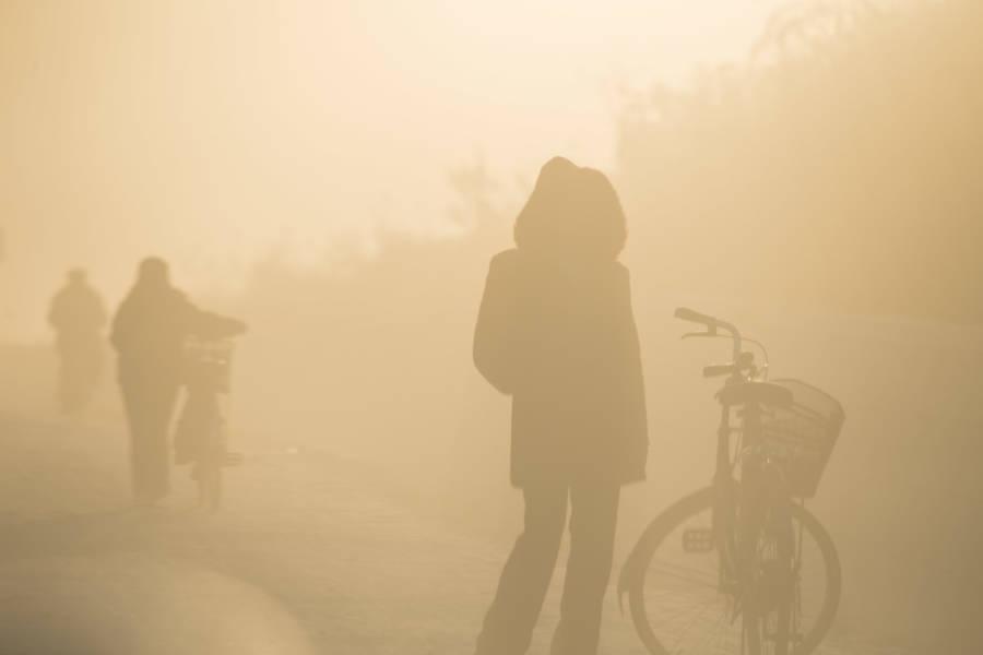 North Korea Smog