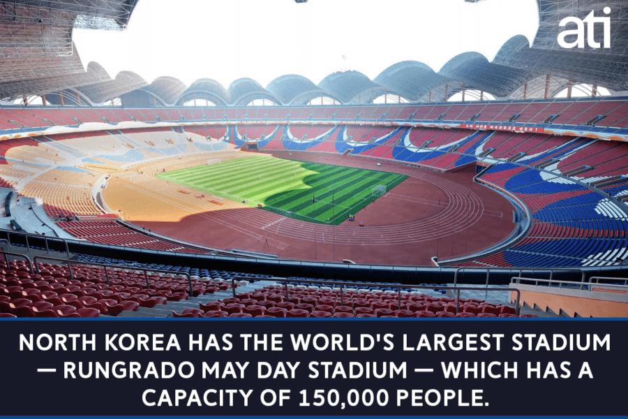 North Korea Stadium
