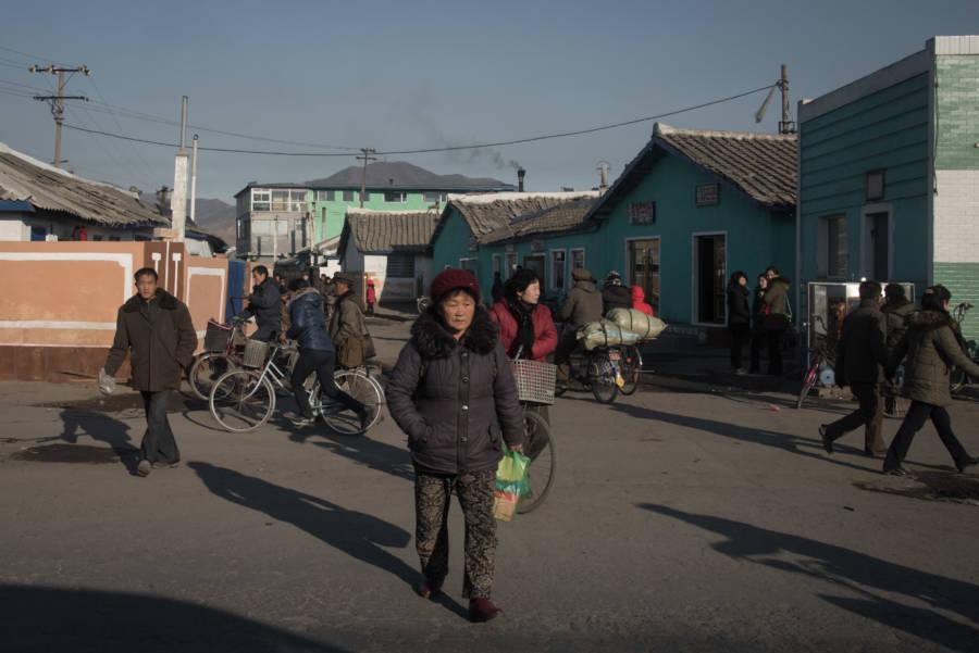 North Korea Town