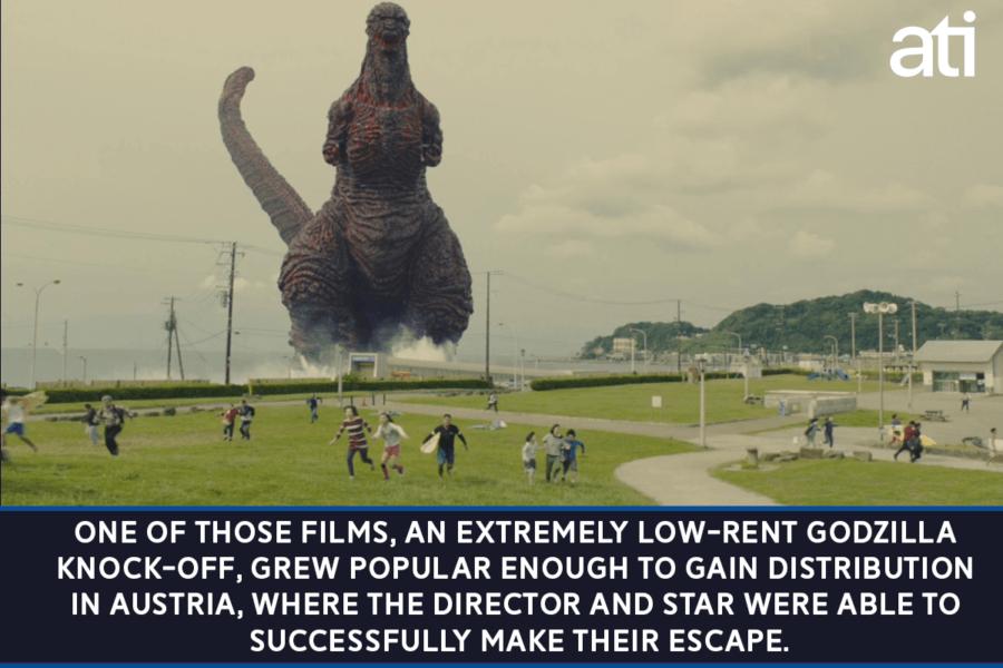 North Korean Godzilla Movie