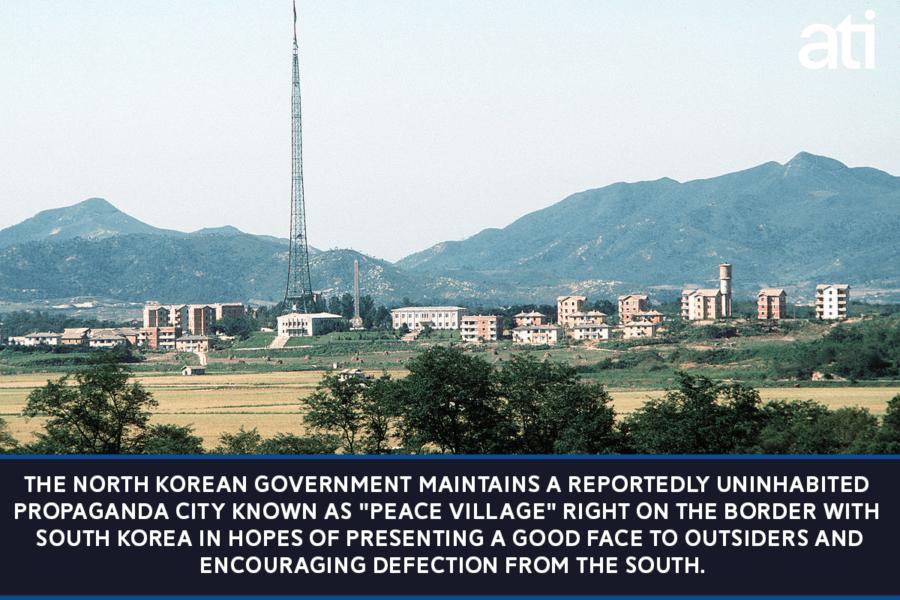North Korean Peace Village