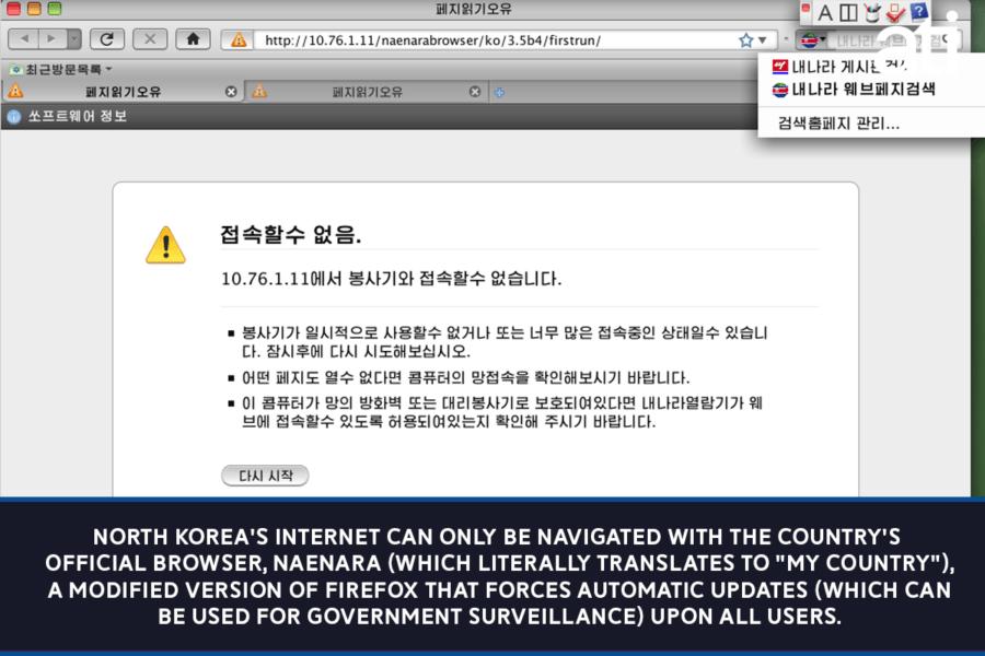 North Koreas Browser