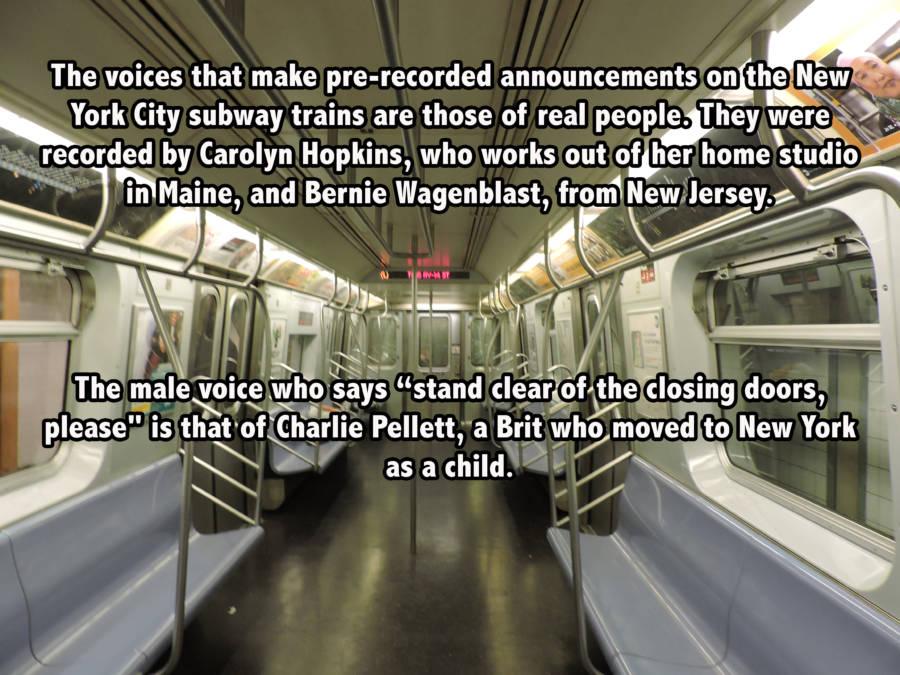 NYC Subway Voice