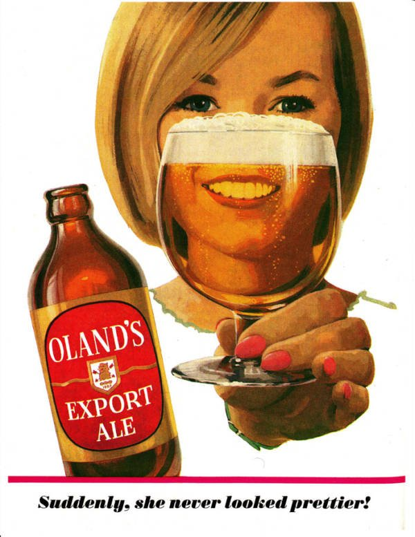 Olands Beer Ads