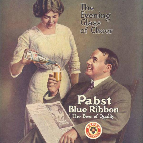 Pabst Beer Advert