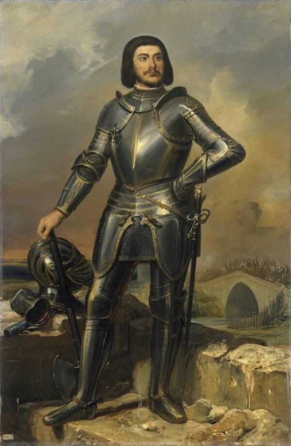 Gilles De Rais In Armor