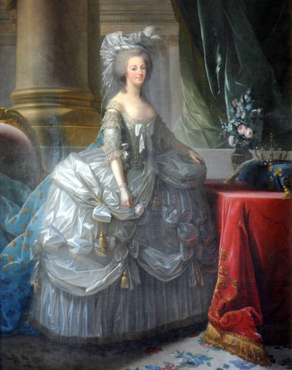 Panniers 1700s Painting Fashion