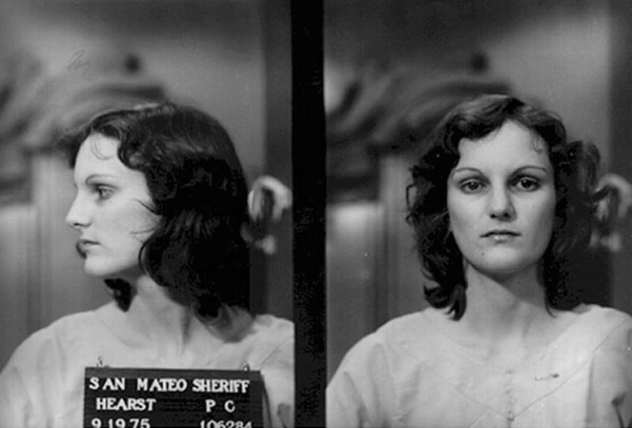 Patty Hearst's Booking Photo