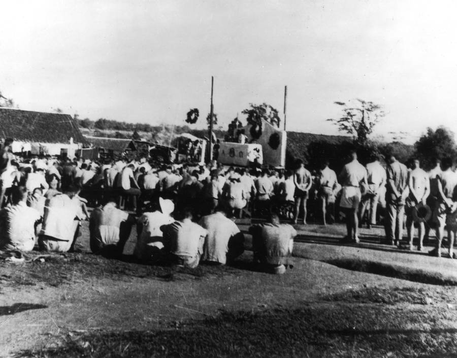 Prisoners At Camp