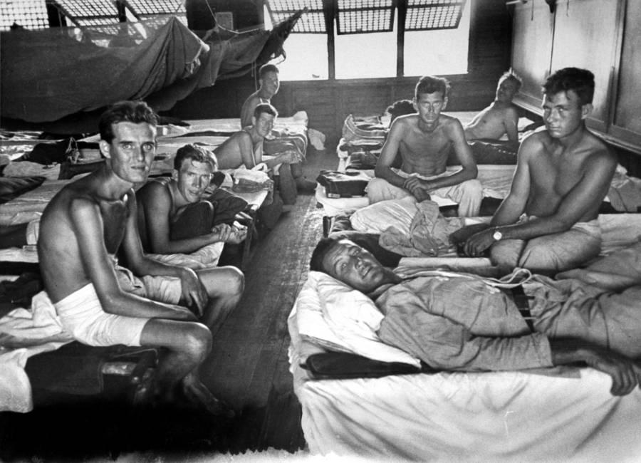 Prisoners In Bunk