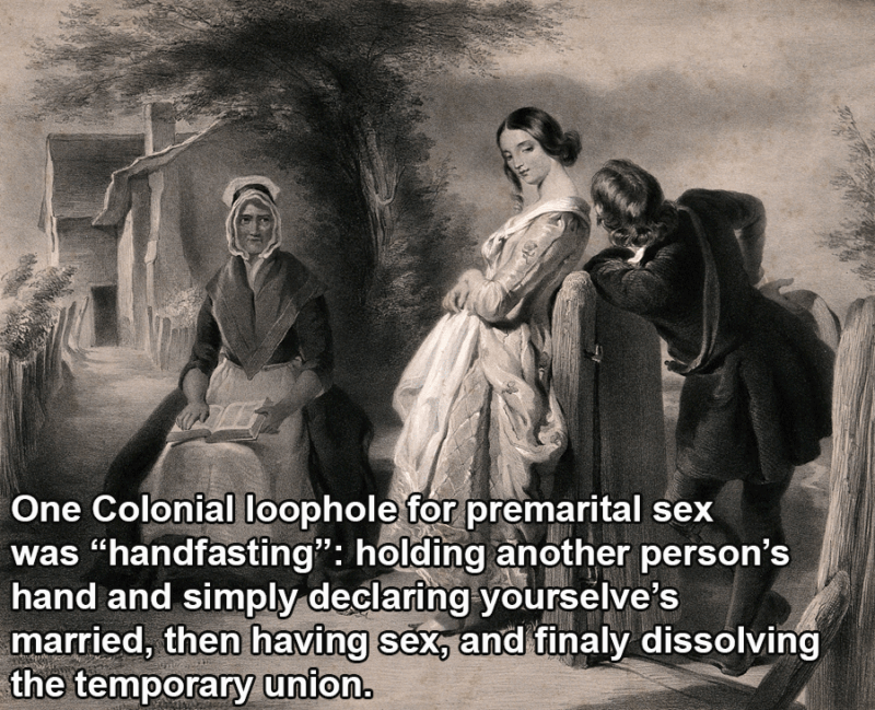 Sex Facts Puritan Courtship