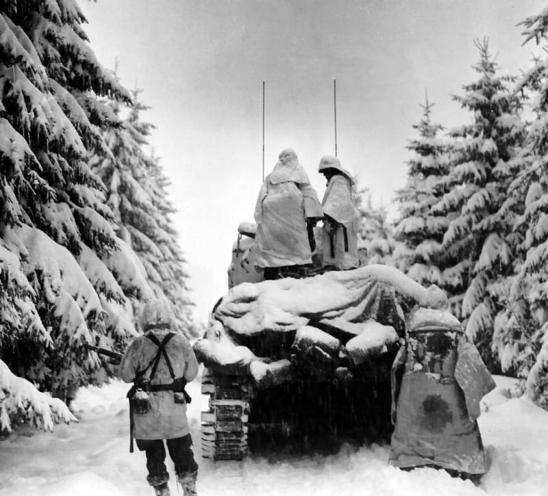 Pictures From The Battle Of The Bulge
