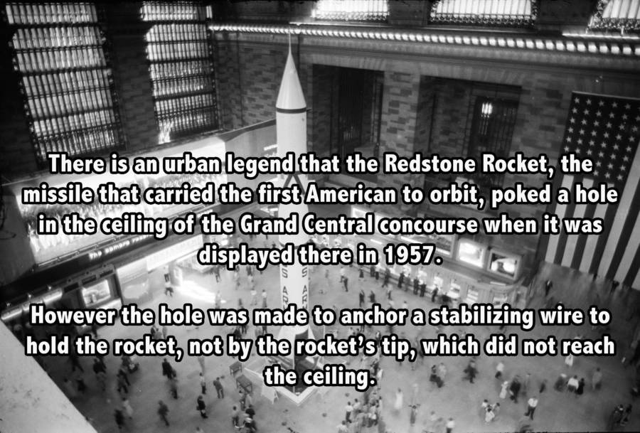 Redstone Rocket in Grand Central Terminal