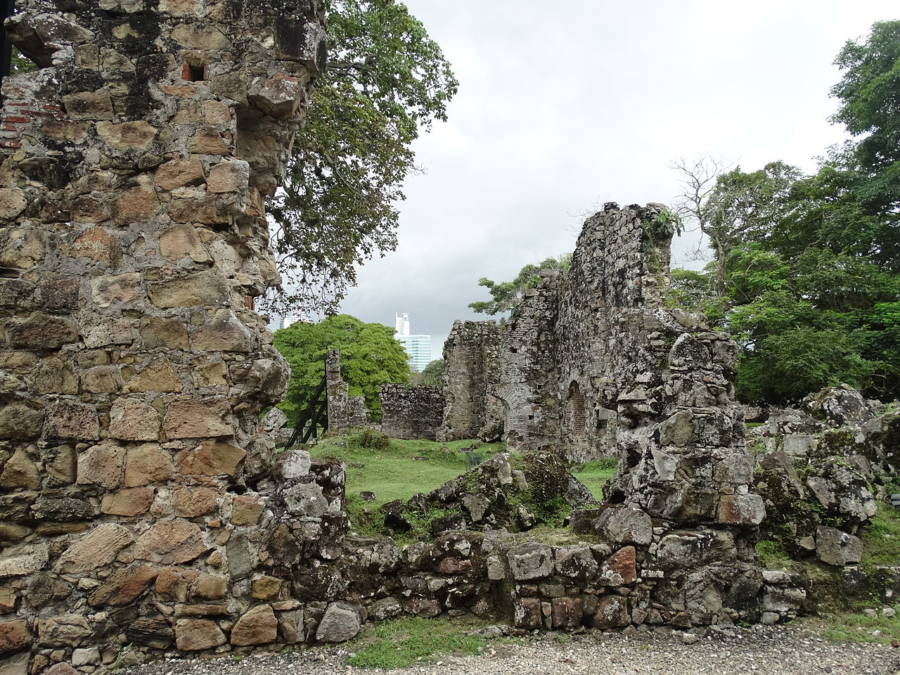 Ruins Of Panama City