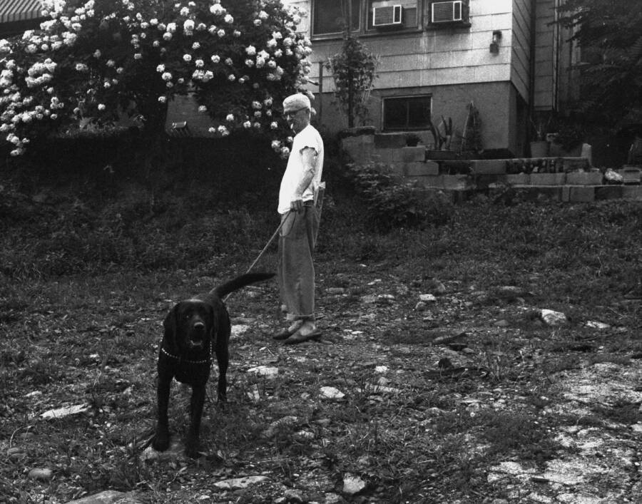 Sam Carr And His Black Lab