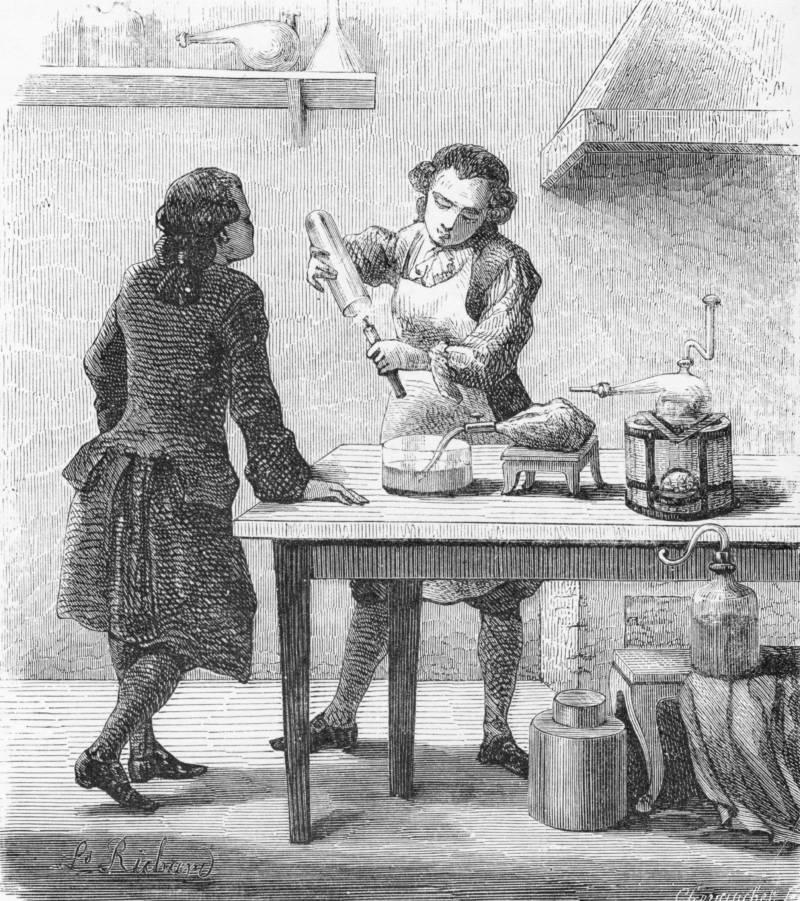 Carl Wilhelm Scheele Discovers Oxygen