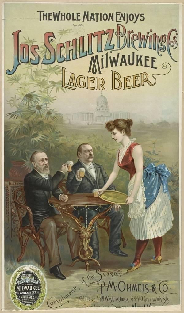 Beer Ads Schlitz