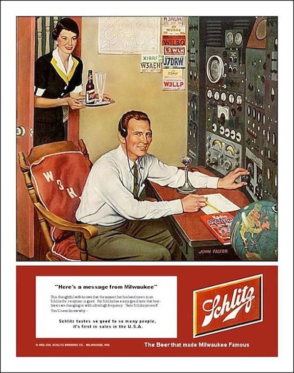 Schlitz Radio Ad