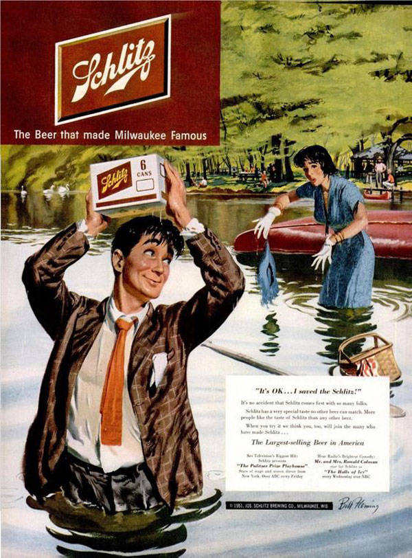 Schlitz Sexist Beer Ads