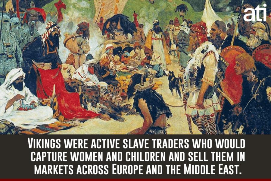 Slave Trading In Norse Society