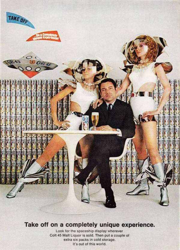 Spacesuit Man In Beer Advert