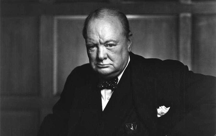 Special Operations Executive Winston Churchill