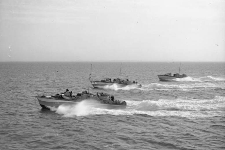 Special Operations Executive Missions WWII Gun boats