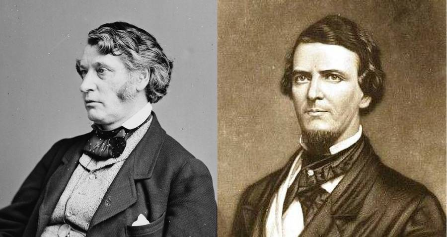 Charles Sumner And Preston Brooks