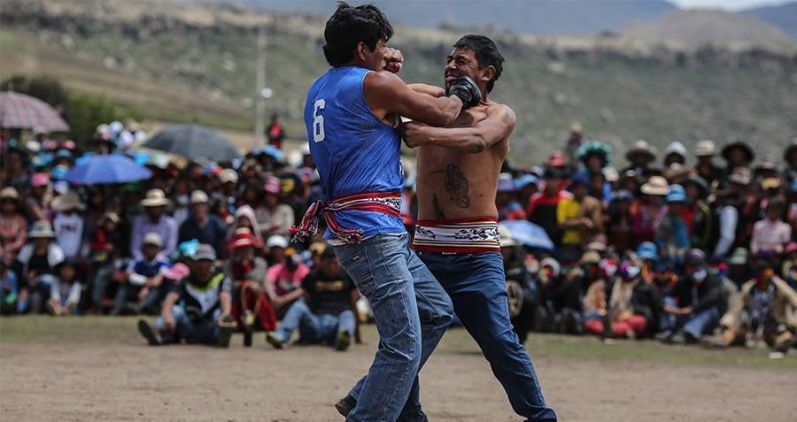 Takanakuy Fight
