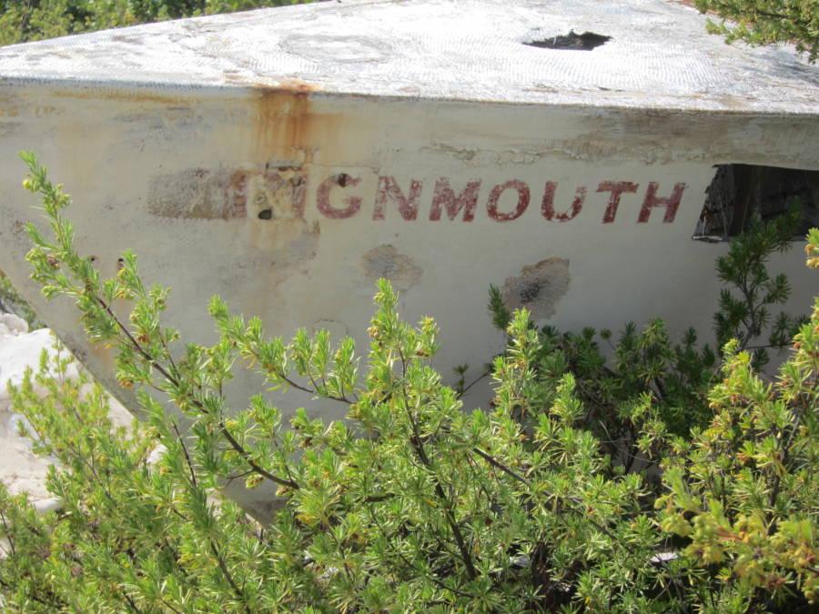 Teignmouth Electron shipwrecked