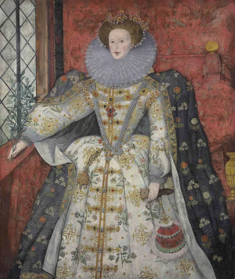 Tudor Ruff 1600s Portrait