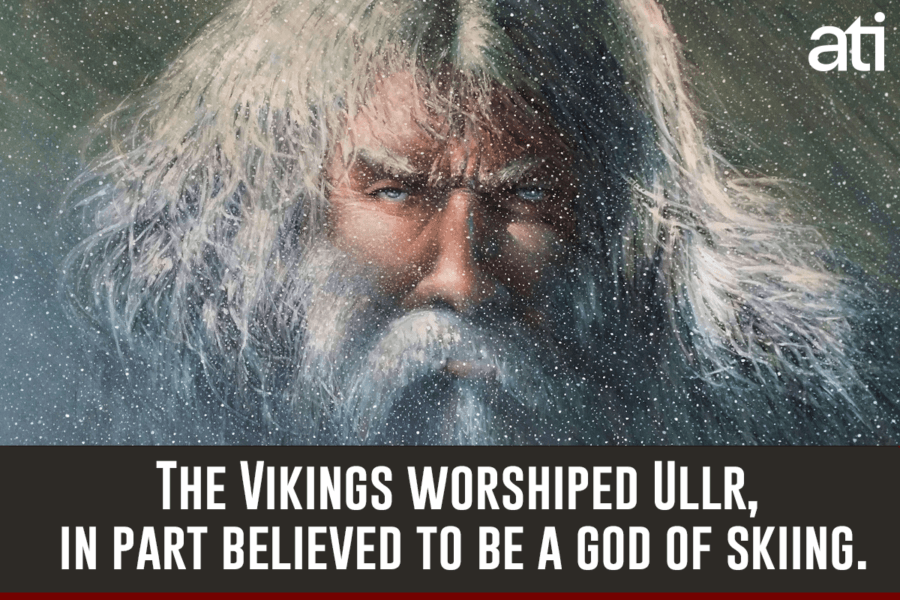 Ullr God Of Skiing