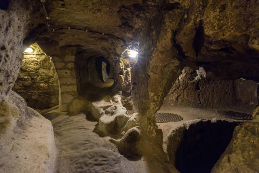 Derinkuyu Underground City Steps