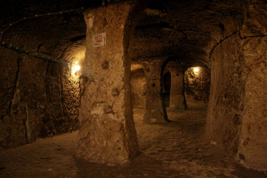 Derinkuyu Underground Stone