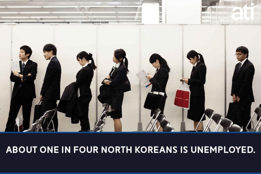 Unemployment In North Korea