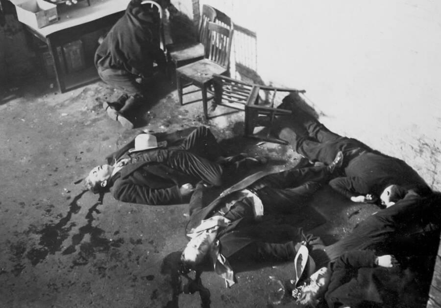 Photos Of The St Valentine's Day Massacre