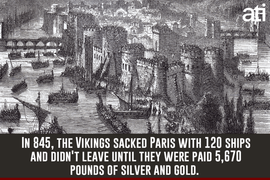 Viking Sacking Of Paris