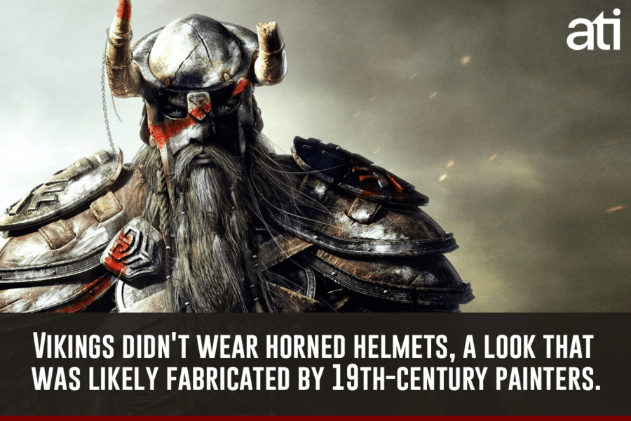 Vikings Didnt Wear Helmets