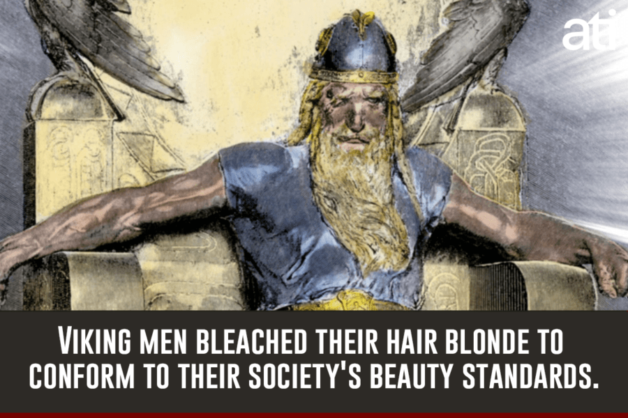 Vikings History Blonde Hair
