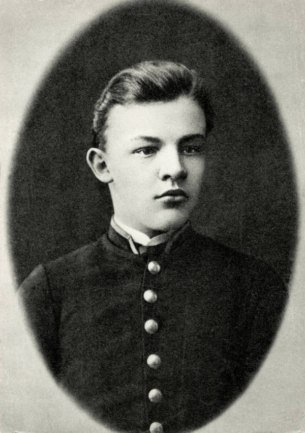 Vladimir Lenin Young