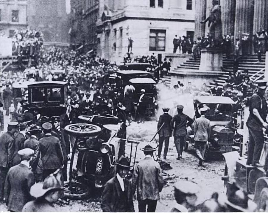 Wall Street Bombing In Nyc