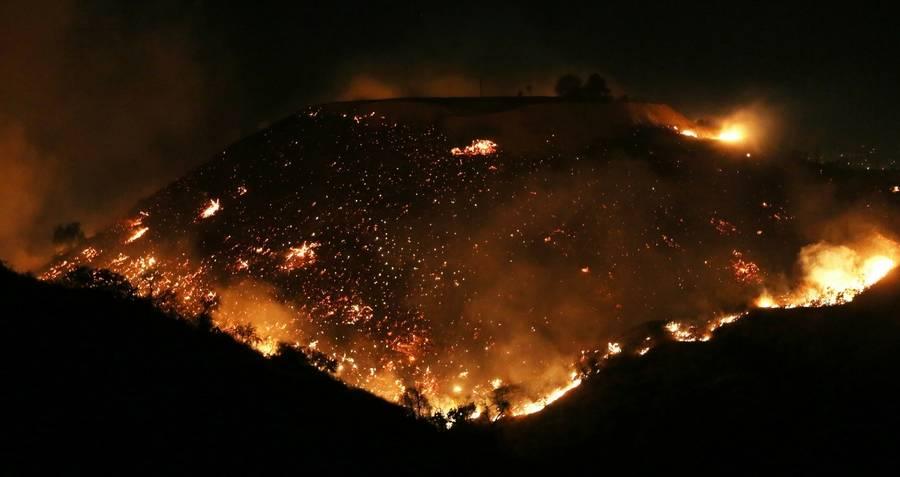 California Wildfires Raging