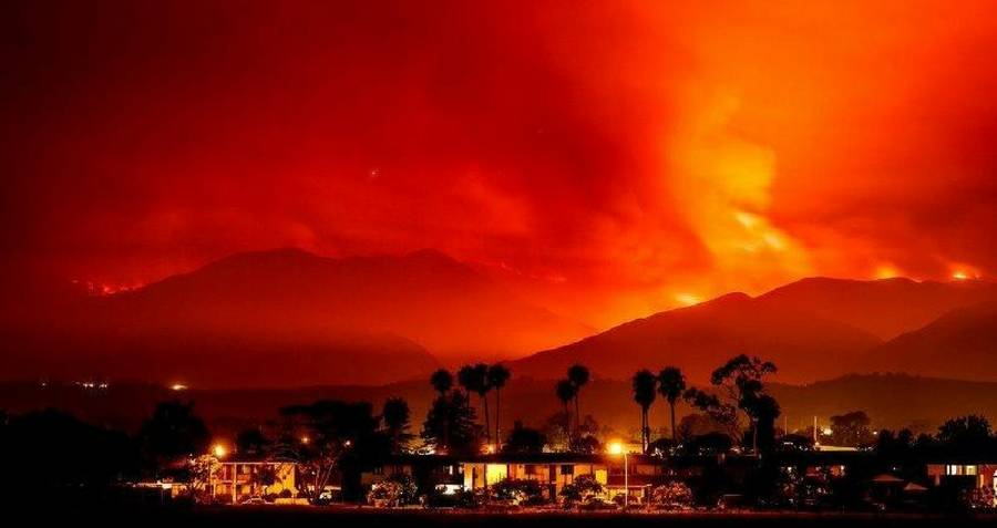 Wildfire In The Hills