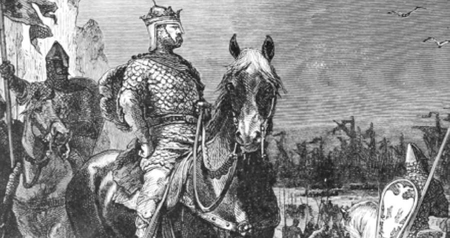 William The Conqueror On A Horse