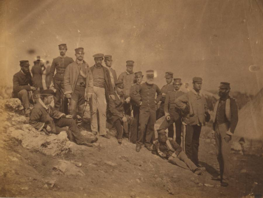 17th Regiment Officers