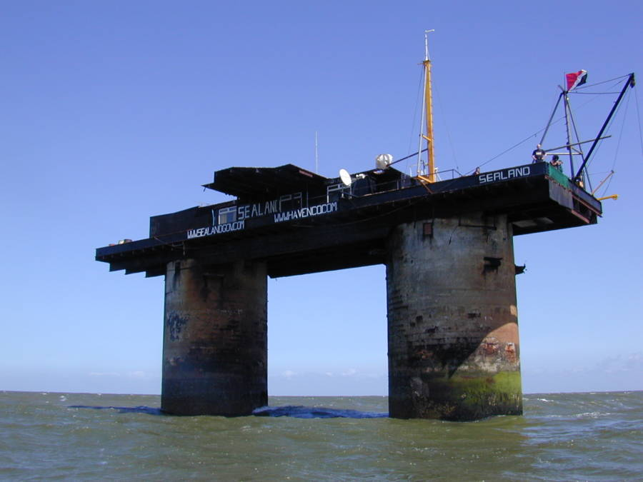Sealand Smallest Country In The World