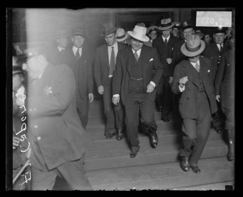 Al Capone Smiling